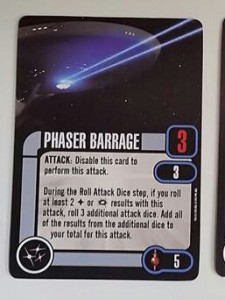 Phaser Barrage ISS Enterprise